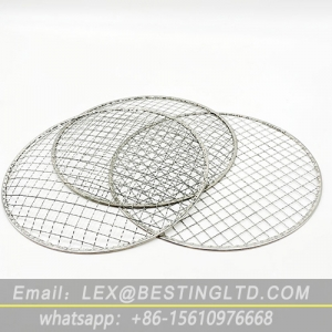 Disposable BBQ grill mesh